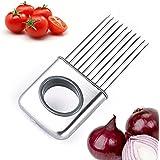 CEKA TECH® utensilios de cocina de acero inoxidable, cortador de tomate - soporte de cebolla - gadgets de cocina de primera calidad - accesorios de preparación de frutas y hortalizas, cortador de cocina y ablandador de carne