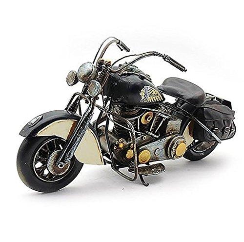 Lesser & Pavey Metall-Kunst-Modell, Indian Chief-Stil, Motorrad, 36 cm, verpackt, Schwarz (Motorrad Amp)