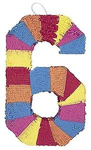 Unique Party- Piñata número 6 (6676)