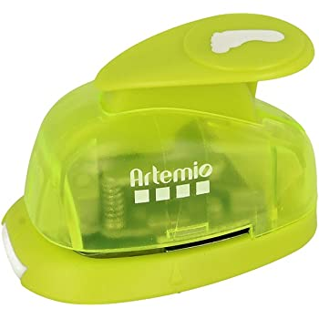 Green Artemio 1.6 cm Small Anchor Lever Punch