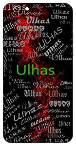 Ulhas (Delight, Joy) Name & Sign Printed All over customize & Personalized!! Protective back cover for your Smart Phone : Oppo A-59
