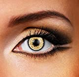 Funky Vision Kontaktlinsen 3 Tones - 12 Monatslinsen, Hazel, Ohne Sehstärke, 1 Stück