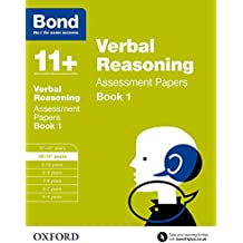 Bond 11+: Verbal Reasoning Assessment Papers: 10-11+ years Book 1