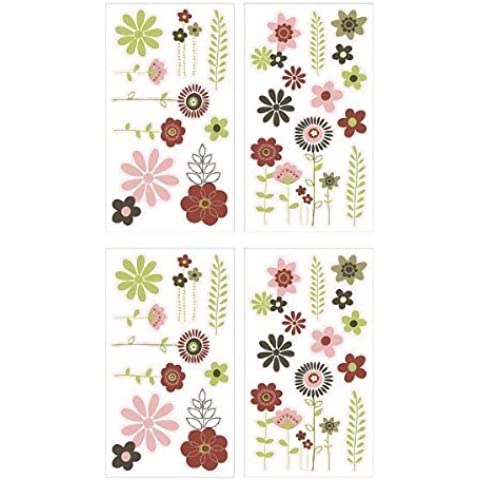 NOJO Chic Blossom Wall Decals by Crown Crafts NoJo