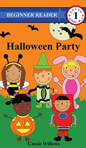 Halloween Party (Beginner Reader - Level 1) (English Edition) (Kinder, Für Party Halloween-aktivitäten)