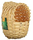 #5: Torri Bamboo Finches and Budgies Bird Hut Nest