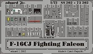 Eduard Accessories SS20230502000F de 16cj Fighting Falcon