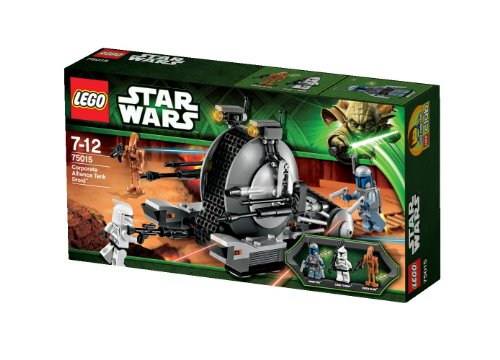 Lego Star Wars 75015 - Corporate Alliance Tank (Star Wars Fett Blaster Jango)