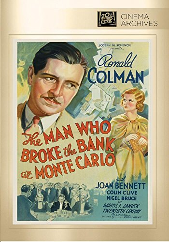 Man Who Broke The Bank At Monte Carlo, The