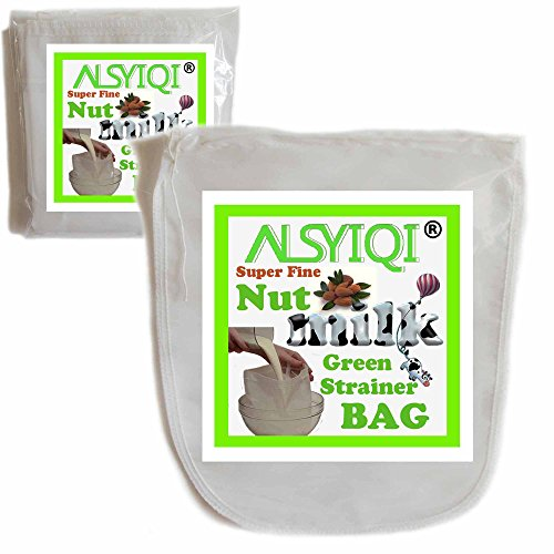 ALSYIQI Nussmilchbeutel – Das vielseitige Passiertuch ideal für Nussmilch, Frucht- und Gemüsesäfte und Smoothies