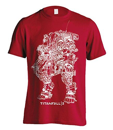Titanfall 2Titan scortch Line Art TS Schwarz M