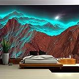 Carta da parati 3D Carta da parati per foto in arte moderna murale montagna natura paesaggio fotografia per soggiorno camera da letto decorazione-150x105cm