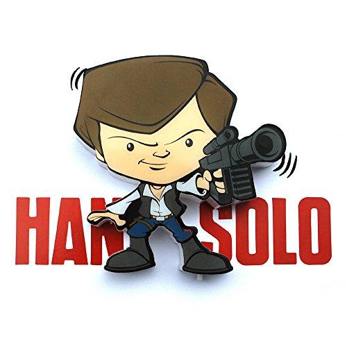 3d Light FX Star Wars Han Solo 3d Deco Mini Applique murale à LED