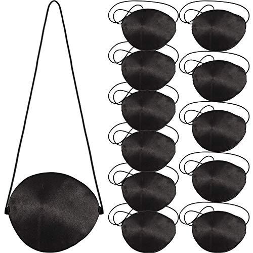 German Trendseller® - 24 x Piraten Augenklappe aus Satin ┃ Piraten Party ┃Seeräuber┃Kindergeburtstag ┃ 24 ()
