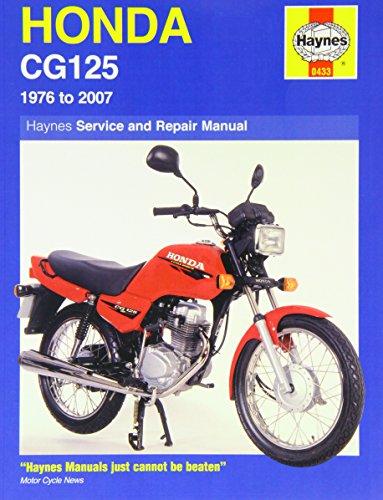 Honda Cg125 (76 - 07): 1976 to 2007 (Haynes Service and Repair Manuals)