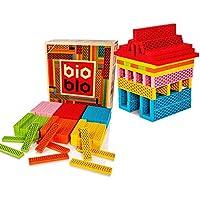 Bioblo Construction Blocks Set, Kinder ECO freundliche Bauklötze, 120 Stück