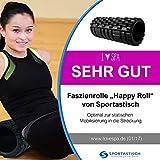 """Profi Faszien Rolle """"Happy Roll"""" von Sportastisch :: hochwertige Massagerolle in geprüfter Qualität - 2"""