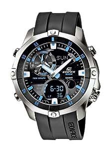 Casio Herren-Armbanduhr XL Edifice Analog - Digital Quarz Resin EMA-100-1AVEF