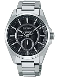 Seiko Reloj presagio presagio mecánico Self-winding (con manual Winding) de cristal de zafiro (10ATM) sarw009Hombres (importación de Japón)