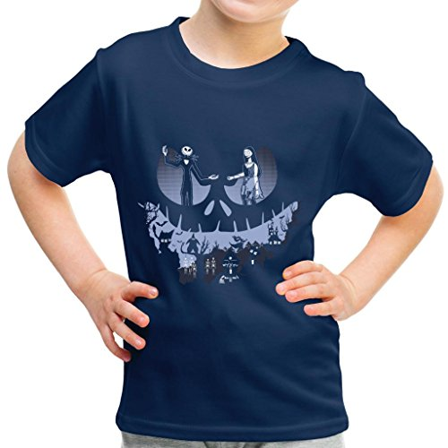 A Lovely Nightmare Before Christmas Jack Skellington Halloween Kid's T-Shirt