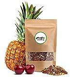 HERBFIT - Tisana Minceur au goût sucré ananas et cerise, 2e génération avec des herbes de la plus haute qualité, excellent antioxydant, ventre et ventre dégonflés (28 jours | 100 gr.)