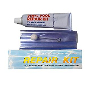 Suds online wet or dry swimming pool liner vinyl above ground swimming pool repair kit also for for Swimming pool liner repair kit