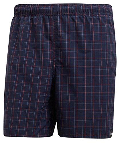 Schwimmen Adidas Shorts (adidas Herren Check Short Length Badeshorts, Legend Ink, 2XL)