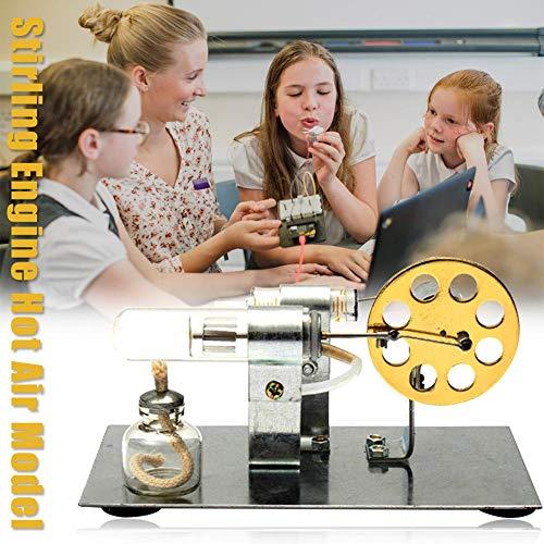 liuxi Stirlingmotor-Motordampf-Wärmeausbildung-Modell Toy Kit bei niedriger Temperatur -