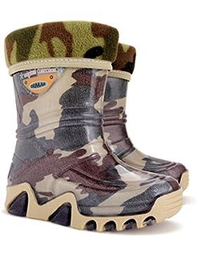 Demar - botas de lluvia Unisex, para niños