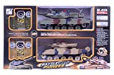 #3: Planet of Toys Battlefield Pioneer 1:24 Fighting 2.4G R?C Remote Control Tanks (with Sound and Light)