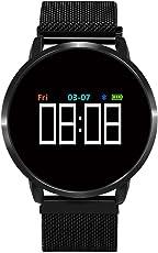 samLIKE 丨 F1 Smart Watch 丨 Herzfrequenz Erkennung 丨 Blutdruck Rekord 丨 Schrittzähler 丨 Blut-Sauerstoff-Messung 丨 Remote-Kamera 丨 IP67 Wasserdicht 丨【 Design für Sportbegeisterte ⭐️】