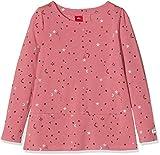 s.Oliver Junior Mädchen Langarmshirt 53.809.31.8152, (Pink AOP 43a3), 104