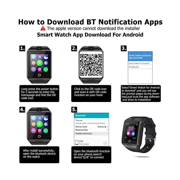 EUKK Smartwatch Reloj Inteligente 7