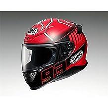 Shoei NXR Marquez3 TC-1 Integralhelm, Farbe rot-schwarz, Größe M