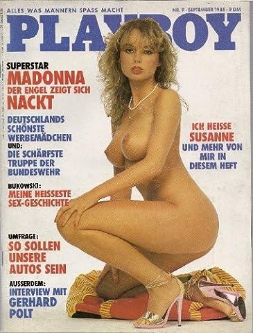 Playboy Magazin September 1985 Zeitschrift Original Deutsche Ausgabe 9/1985