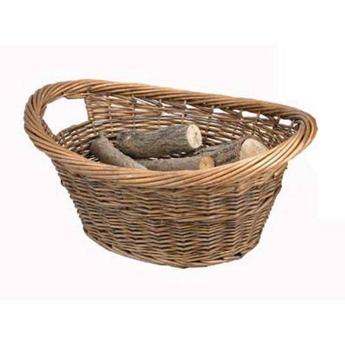 Cradle Willow Log Basket