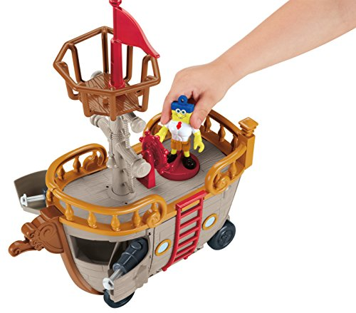 Image of Imaginext Sponge Bob Square Pants Krabby Patty Food Truck