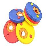 Skitic Schwimmscheiben, Schwimmhilfen für Kinder Schwimmhilfe Armbinden Discs Schaum Schwimmen Armbands