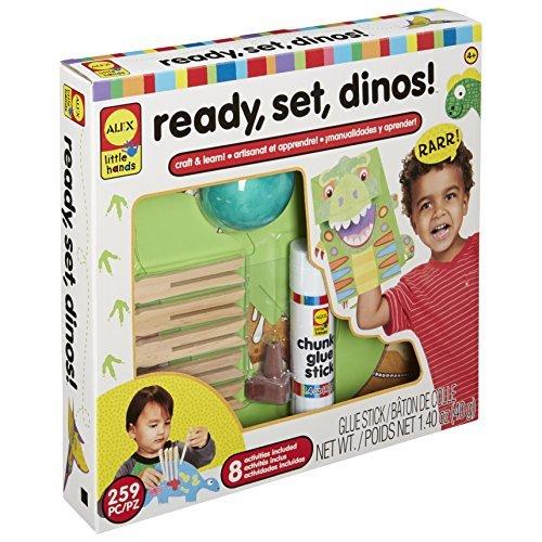 ALEX Toys Little Hands Ready, Set, Dinos by ALEX Toys