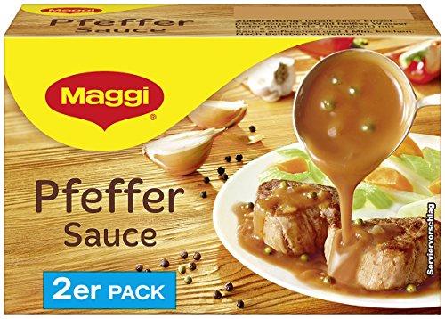 Maggi Delikatess Doppelpack Pfeffersoße, 18er Pack (18 x 500 ml)