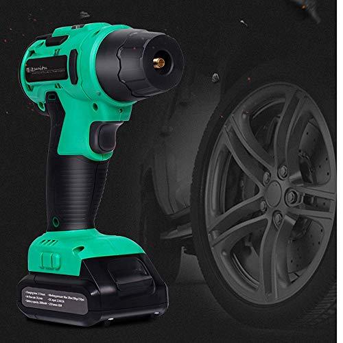 LYDIANZI LED Car Pompa compressore d'Aria, Smart Wireless 2200 mAh 12V USB Pressione Staccabile Batteria al Litio Preset Pneumatici Pompa della Gomma di Emergenza, Wirelessmodels