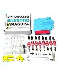 West Biking Kit de purge pour Shimano//Magura Tektro VTT Vélo à frein à disque hydraulique
