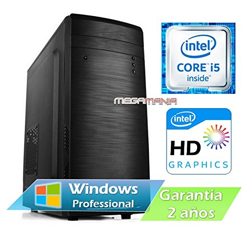 PC ORDENADOR SOBREMESA INTEL CORE i5 3,2Ghz | 8GB RAM | 1TB HDD | VGA INTEL HDMI | WINDOWS 10 PRO 64 BIT | RW DVD/CD FA500W