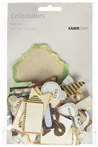 Kaiser Craft Base Coat Collectables Die-Cut Tarjetas