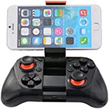 XCSOURCE Bluetooth inalámbrico Wireless Controlador gamepad Joypad Joystick para iOS iPhone,teléfono Android Samsung Gear VR, S6, S6 Edge, S7, S7 edge, Note 5, Nexus, HTC, LG/Tablet PC iPhone 6 6S 7 7s 7plus Juegos BC611