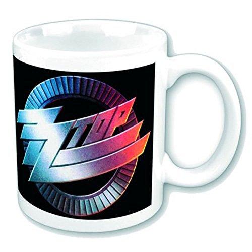 ZZ Top - Circle Logo - Mug en céramique - Taille 8,5 cm Hauteur 9,5 cm + accessoires
