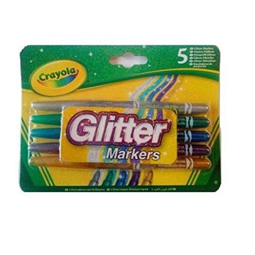Crayola 58-8645-e-000Glitter Marker