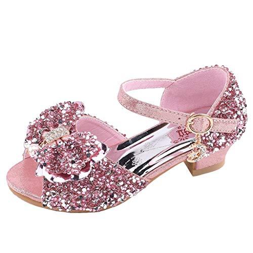 Pingtr - Baby Mädchen Sandalen - Prinzessin Gelee Partei Absatz-Schuhe Sandalette Stöckelschuhe für Kinder