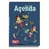 Okapi Academic Diary 2017-2018Blue - OKAPI - amazon.co.uk