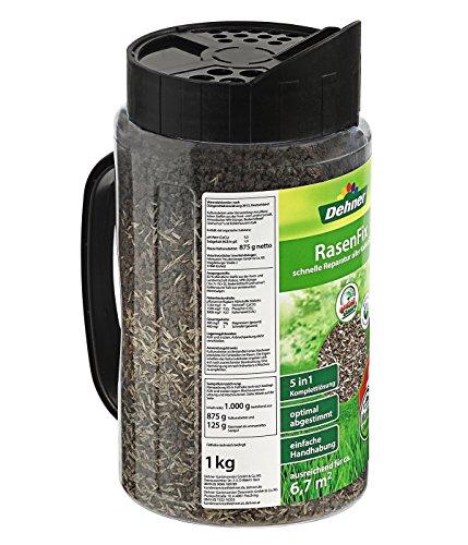 Dehner Rasenfix zur Rasenreparatur, 5 in 1 Komplettlösung, 1 kg